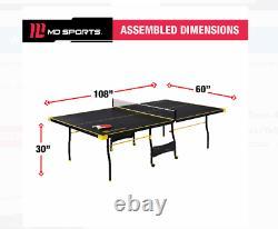 Table Officielle De Ping-pong De Tennis De Table De Taille Intérieure Avec Paddle Et Jeu De Boules