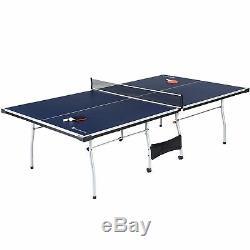 Table Officielle De Ping-pong De Tennis De Table De Taille Intérieure / Extérieure Avec La Palette Et Les Boules