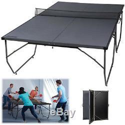 Table Pliante Tennis Conversion Top Ping Pong Conseil D'intérieur En Plein Air Kid Fun Nouveau