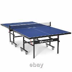 Table Professionnelle De Tennis De Table Goplus Table Intérieure/extérieure Ping-pong Pliable