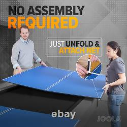 Table Tennis Conversion Top Ping Pong Table 4 Piece Full Size Includes Net Set