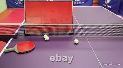 Table Tennis Retour Board Rebound Board Ping Pong Une Seule Auto-étude Avec Trépied