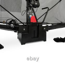 Table-tennis-ball-machine Table Tennis Robot Ping Pong Train Machine & Catch Net