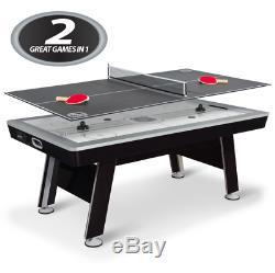 Tables Multi Jeu Salle De Jeux Air Hockey Enfants Adultes Tennis Ping Pong 80 Pouces