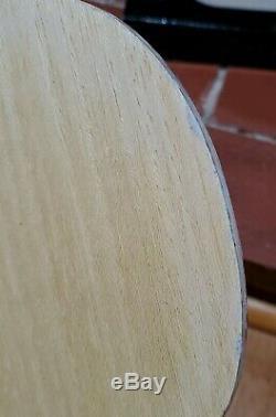 Tag Noir Utilisé Timo Boll Spirit Fl Tennis De Table Lame / Racket / Bat / Paddle