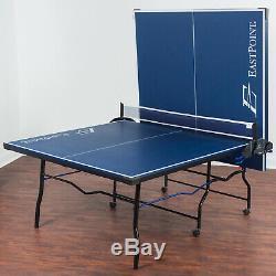Taille Du Tournoi Officiel Table De Ping-pong Tennis De Table Intérieur Extérieur Pliant Nouveau