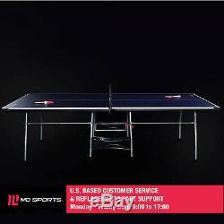 Taille Imperméable À L'eau Pliable Officiel Tennis De Table De Ping-pong Avec Raquette Et Boules