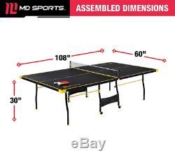 Taille Officielle Du Tennis Professionnel De Ping-pong 2 Raquettes Et Balles Inclus