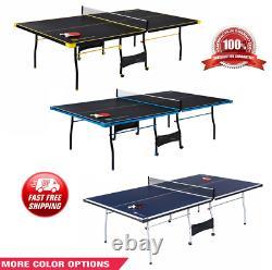 Taille Officielle Extérieur / Intérieur Tennis De Ping-pong 2 Raquettes Et Balles Inclus