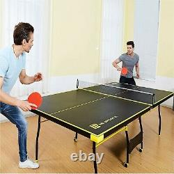 Taille Officielle Indoor/outdoor Tennis Ping Pong Table Sports Game Paddles & Balls