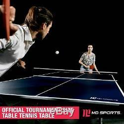 Taille Officielle Pliable Intérieure Table De Ping Pong Balles De Ping-pong Paddle Fun Game