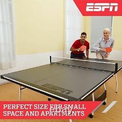 Taille Officielle Tennis De Table De Ping-pong D'intérieur Avec Des Boules Et De Paddle