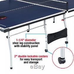 Taille Officielle Tennis De Table De Ping-pong Intérieur / Extérieur Avec Des Boules Et De Paddle