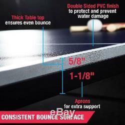 Taille Officielle Tennis De Table De Ping-pong Intérieure Avec Paddle Et Boules Jeu