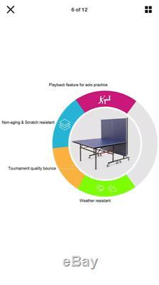 Taille Officielle Tennis De Table Pliable Ping-pong Intérieur Extérieur Accueil Sport