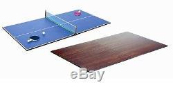 Tennis De Table 7x4 Rosetta Desk Manger Réversible Piscine Top Billard Table De Couverture