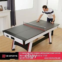 Tennis De Table Conversion Top Ping Pong Net Post Extérieur Intérieur Portable Fun