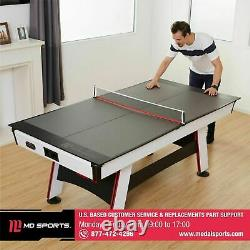 Tennis De Table Conversion Top Portable Pliage Ping Pong Indoor MID Size Game Room