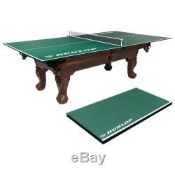 Tennis De Table De Conversion Top Full Size Folding Ping Pong Avec Set Net Sur Une Table