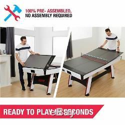 Tennis De Table De Conversion Top Portable Pliant Ping-pong Intérieur MID Size Salle De Jeux