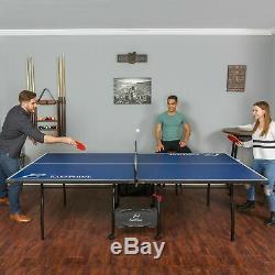 Tennis De Table De Ping-pong Extérieur Officiel Taille Table Pliante Lecture 4 Jeux Piece