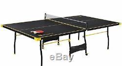 Tennis De Table De Ping-pong Pliant En Deux Parties