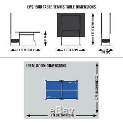 Tennis De Table De Ping-pong Tournoi Pliant Taille Original Game Set Sports D'intérieur