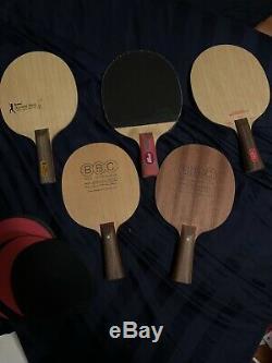 Tennis De Table Dhs Lames Utilisées Stiga Nittaku Bbc