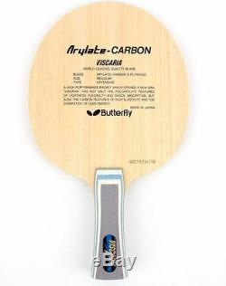 Tennis De Table En Lame Butterfly Viscaria Fl, Raquette De Ping-pong, Pagaie Fabriqué Au Japon
