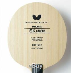 Tennis De Table En Lame De Papillon Tamca5000 Sk Carbon Fl, Raquette De Ping-pong