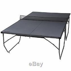 Tennis De Table Ping Pong Table Indoor Tournoi Officiel Sports Set Gris Nouveau
