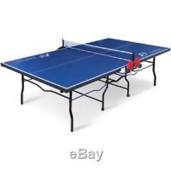 Tennis De Table Ping-pong Pliable Sport De Plein Air Jouer Jeu Amusant 18mm Haut 2 Pièces