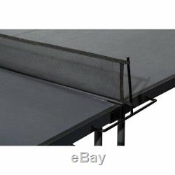 Tennis De Table Pliante Conversion Top Ping Pong Set Intérieur Extérieur Enfants Compact