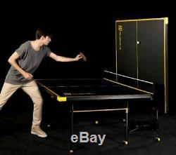 Tennis De Table Pliante Taille Énorme Jeu Jeu De Ping-pong Intérieur Extérieur Sport Ensemble Complet