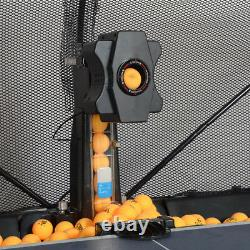Tennis De Table Robot Automatique Ping-pong Pratique Machine De Boule De Recyclage Avec 100 Billes