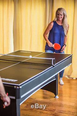 Triumph Phoenix - Table De Billard 7 Pi Pour Table De Billard Avec Conversion Au Tennis De Table