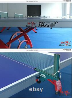 Unique Et Jolie Double Fish 328 X1 (moins Cher / Nice) Ping Pong Table De Tennis De Table