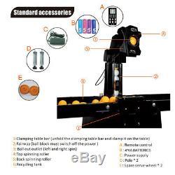 Us Super Automatique Robot Tennis De Table De Ping-pong Pitching Training Machine Avec Net