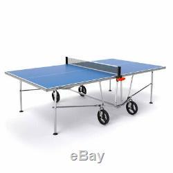 Vermont Ts100 De Tennis De Table De Ping-pong Pliable Extérieur + Bats / Boules