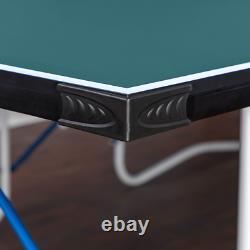 Walker & Simpson Flat Hit Full Size Pliant Table De Tennis Table Vert