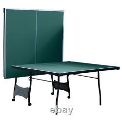 Walker & Simpson Mistral Pliant Table De Tennis Table Vert