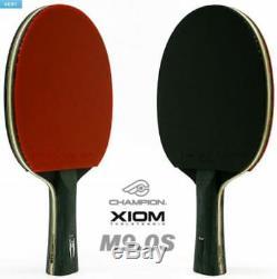 Xiom Champion M9.0s Tennis De Table De Ping-pong Shakehand Racket, Paddle, Bat, Lame