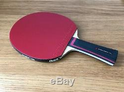 Xiom Stradivarius Offensive + Omega VII L'europe Custom Made Tennis De Table Chauve-souris